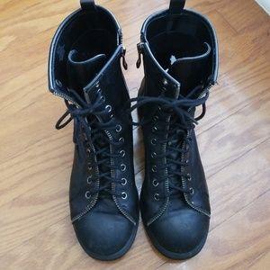 BCBG Combat Style Boots Size 6/36